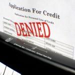 Denied for Credit
